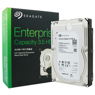 SEAGATE 希捷 V5系列 Exos 7E8 企业级硬盘 4TB(ST4000NM0035、7200RPM、128MB)