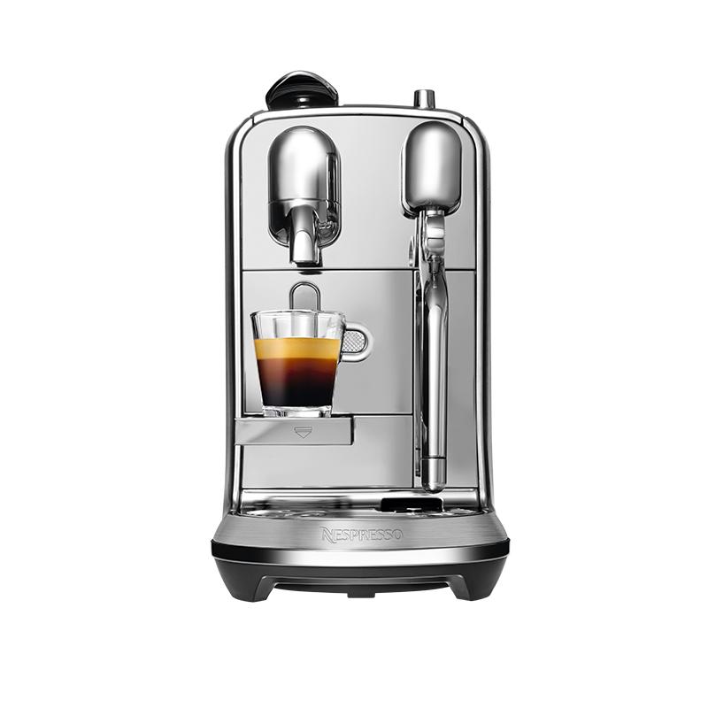 NESPRESSO 奈斯派索 Creatista Plus J520 胶囊咖啡机 银色