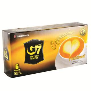 G7 中原 榛子味 卡布奇诺咖啡 18g*6条(108g)
