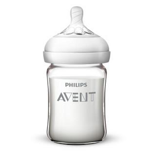 飞利浦 AVENT 新安怡 自然顺畅系列 宽口径玻璃奶瓶 160ml
