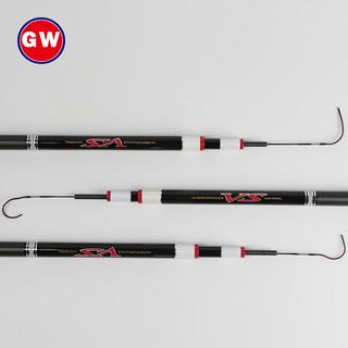 GLOWAY 光威 光威鲤·鲨影 台钓鱼竿 5.7m