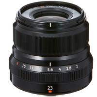 FUJIFILM 富士 XF23mm F2 R WR 标准定焦镜头 黑色