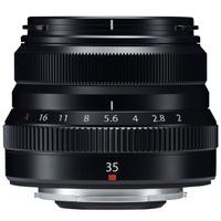 FUJIFILM 富士 XF35mm F2.0 R WR 标准定焦镜头 黑色