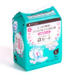 dacco 诞福 三洋 产妇卫生巾 立体型 5片 L号