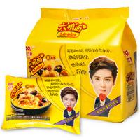 玖玖爱 香菇炖鸡 非油炸六粮方便面 129g*5 5包