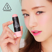3CE CREAMY CHEEK STICK 柔润腮红棒  PINK FACTORY