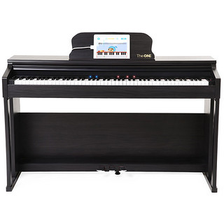 The ONE 壹枱 智能钢琴 电钢琴 88键重锤 成年人儿童乐器 黑色