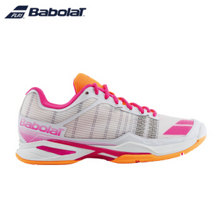 Babolat 百保力 JET TEAM ALL COURT 女子网球鞋 40 白色