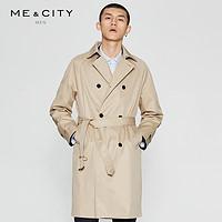MECITY 男士战壕风衣
