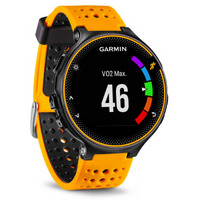 GARMIN 佳明 Forerunner 235 光学心率GPS运动腕表 橘黑色