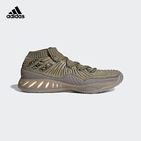 adidas 阿迪达斯 Crazy Explosive 2017 Low 男子篮球鞋 40 影迹货物褐/基础绿/白