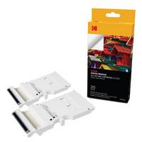 Kodak 柯达 PMS-20 便携式手机照片打印机 专用原装背胶相纸(20张/盒)