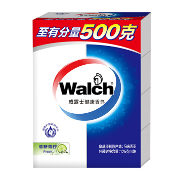 Walch 威露士 健康香皂 清新青柠   125g×4