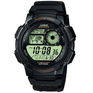 CASIO 卡西欧 G-SHOCK AE-1000W-1APR 男士腕表