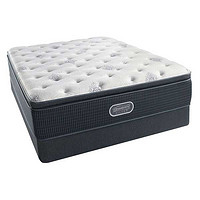 Simmons 席梦思 Beautyrest Silver 睡美人系列 Whistling Cay Luxury Firm Pillow Top 床垫 CK(约183cm*213cm)