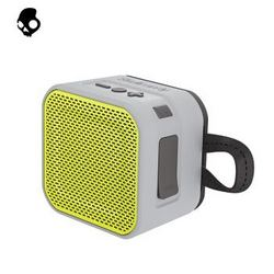 骷髅头(Skullcandy)BARRICADE MINI 迷你版便携式蓝牙防水小音箱 音响 灰黄色