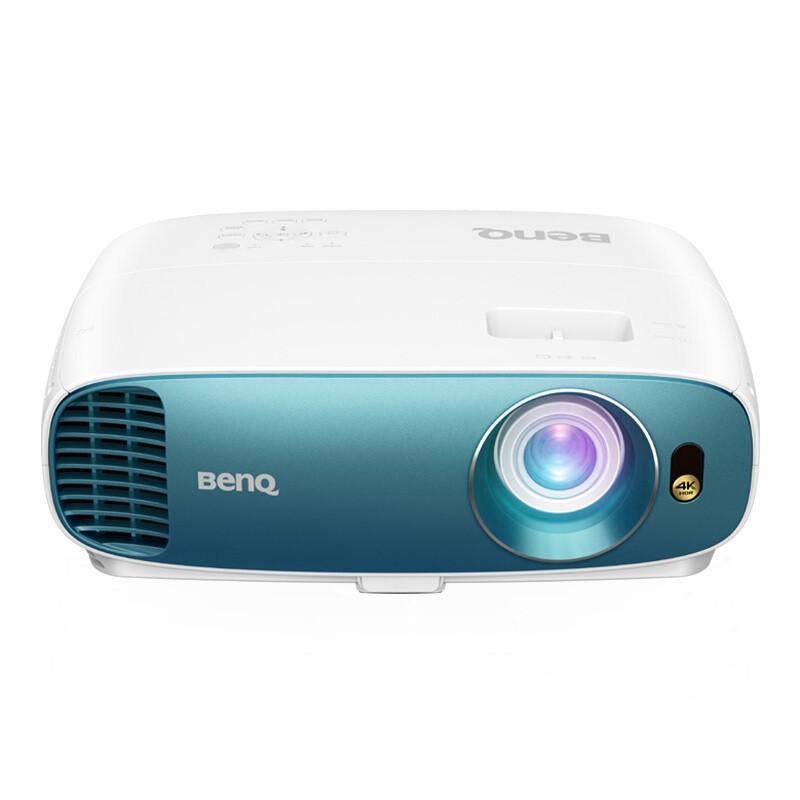 BenQ 明基 TK800M 投影仪 4K超高清 3000流明 3D影院 HDR 支持2.35:1影院比例 白色/蓝色