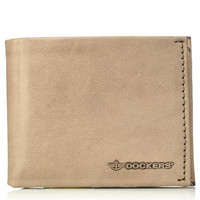 DOCKERS Rfid Security Blocking Passcase 31DK130024 男士真皮钱包