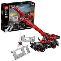 双11预售:LEGO乐高积木拼装玩具机械组系列复杂地形起重机 42082