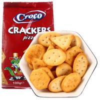 Croco 小鳄鱼 香酥批萨味饼干 100g