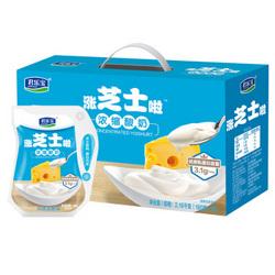 君乐宝 涨芝士啦 芝士口味 180g*12袋整箱 酸奶酸牛奶 *2件