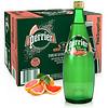 Perrier 巴黎水 气泡矿泉水 西柚味 750ml*12瓶