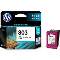 HP 惠普 F6V20AA 803 彩色墨盒