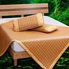 九洲鹿 夏季凉席 (1.5m(5英尺)床、藤席、三件套)
