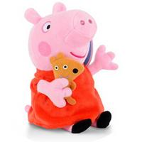 Peppa Pig 小猪佩奇 儿童毛绒玩具系列 佩奇抱熊 30cm