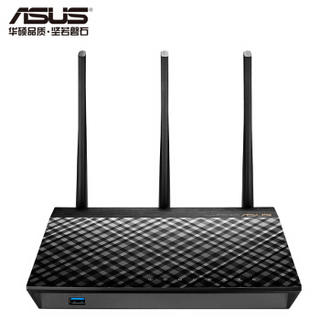 ASUS 华硕 RT-AC1750 B1 双频无线路由器