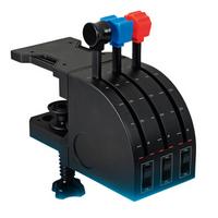 Logitech 罗技 Flight Throttle Quadrant 专用轴杆仿真控制器 飞行油门弧座