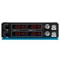 Logitech 罗技 Flight Radio Panel 专用驾驶舱模拟无线电控制器