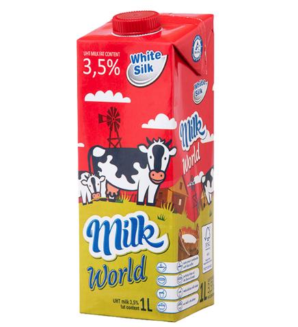 MPDQ 怀丝 全脂纯牛奶 1L*12盒