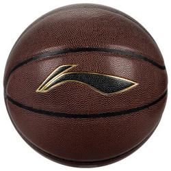 李宁LI-NING PU材质室内外通用比赛篮球 LBQG030-P *3件