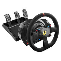 THRUSTMASTER 图马思特 T300 法拉利版 赛车游戏方向盘