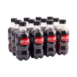 Coca-Cola 可口可乐 零度 Zero 汽水 碳酸饮料 300ml*12瓶
