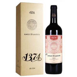 LAULAN DUCOS 乐朗 法国进口红酒 波尔多梅多克AOC级 乐朗1374天使 干红葡萄酒 2016年 礼盒装 750ml