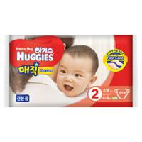 HUGGIES 好奇 魔术 男宝宝纸尿裤 S2片(韩国原装进口)