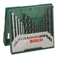BOSCH 博世 2607019675 钻头绿色套装 15支