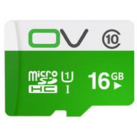 OV 16GB TF(MicroSD)存储卡 U1 C10 热销标准版 读速80MB/s 手机平板音响点读机高速存储卡