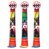 BRAUN 博朗 EB10-3K 儿童电动牙刷头 3支装 适用DB4510K,D10,D12儿童电动牙刷(疯狂赛车图案 款式随机)
