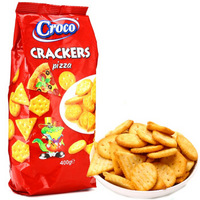 Croco 小鳄鱼 香酥饼干 (400g、披萨味)