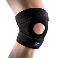 LP788KM护膝运动支撑强透气升级款跑步篮球登山膝关节防护护具 均码