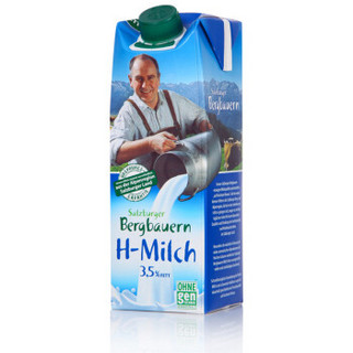 SalzburgMilch 萨尔茨堡 全脂纯牛奶 1L
