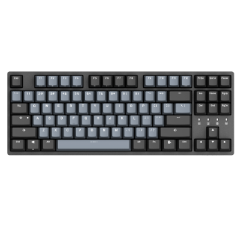 DURGOD 杜伽 TAURUS K320 机械键盘 (Cherry银轴、深空灰)