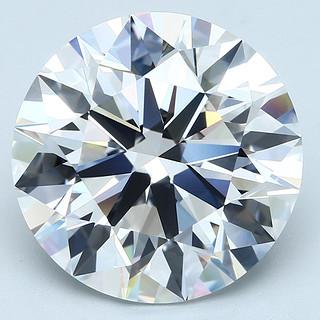 Blue Nile 15.88克拉 圆形钻石 (切割EX/成色E/净度FL)