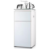 沁园(TRULIVA)饮水机 家用下置水桶自动上水立式茶吧机 电热水壶多功能饮水机 珍珠白 LNS581-8F