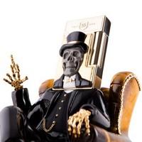 S.T.Dupont 都彭 时尚先生系列 镀金黑曜石打火机