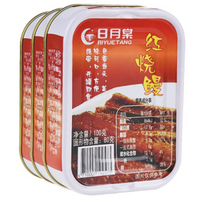 中国台湾 日月棠  鱼罐头 下饭菜 红烧鳗鱼100g*3罐 *6件