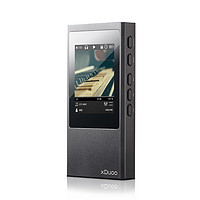 xDuoo 乂度 X20 音频播放器MP3 黑色(3.5单端、2.5平衡)